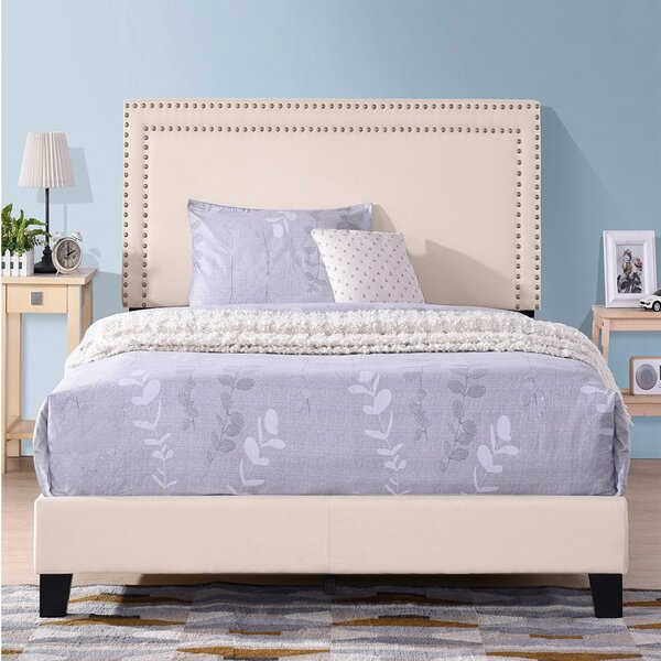 Bozek Queen Upholstered Standard Bed by Red Barrel Studio