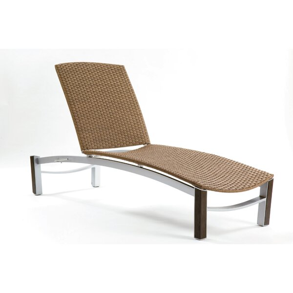 Dripper Chaise Lounge by Les Jardins