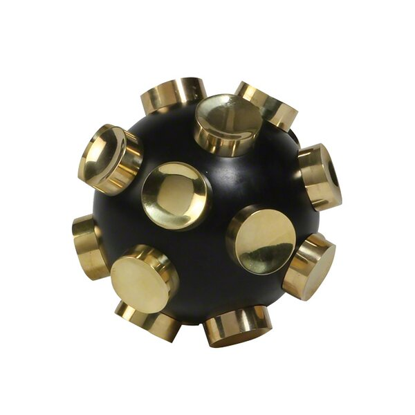 Orb Object with Knobs Figurine by DwellStudio