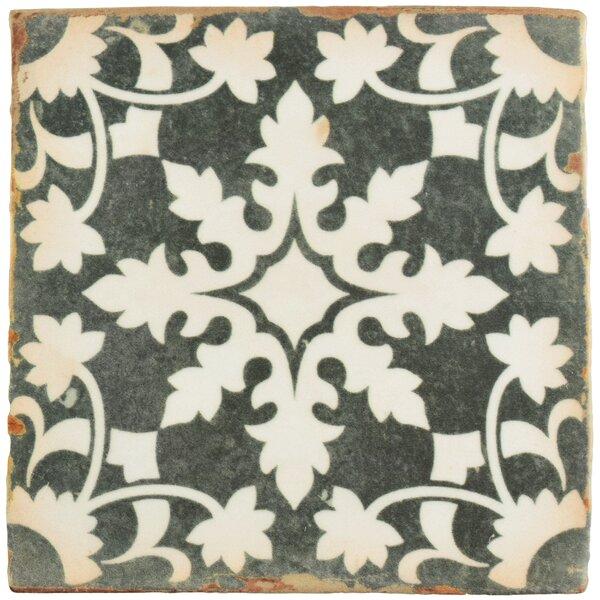 Arquivo 4.88 x 4.88 Ceramic Field Tile in Grey by EliteTile