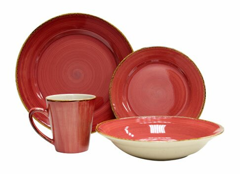 Sedona 16 Piece Dinnerware Set, Service for 4 by Thomson Pottery