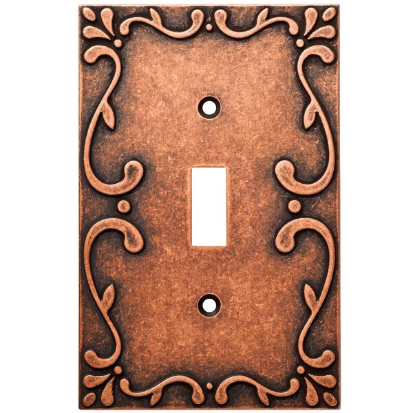 Classic Lace Single Switch Wall Plate by Franklin Brass