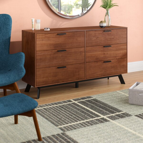 Sheyla 6 Drawer Double Dresser by Zipcode Design