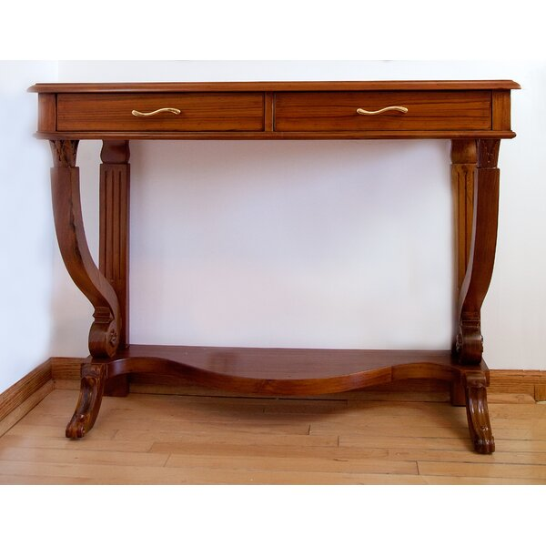Regal French Style Console Table By The Silver Teak