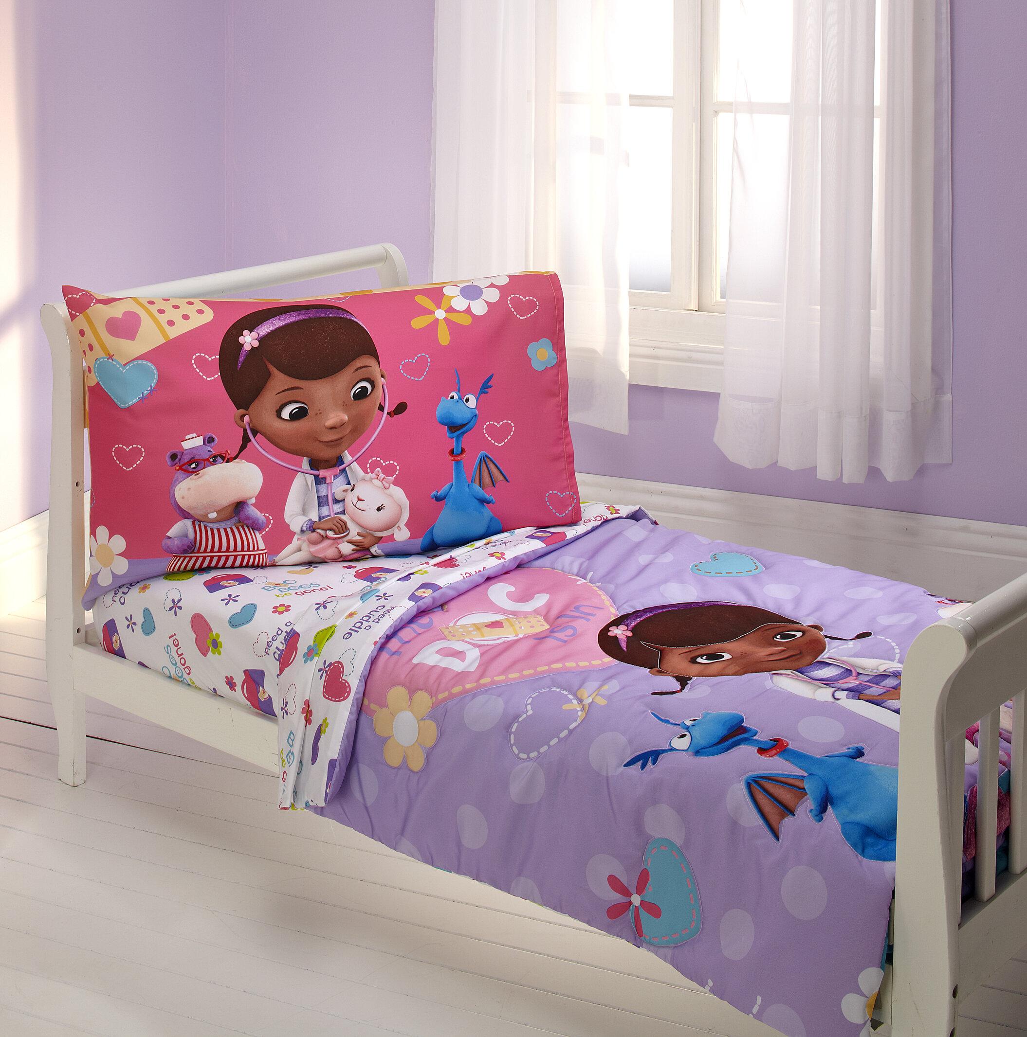 Doc Mcstuffins Toddler Bedding Set