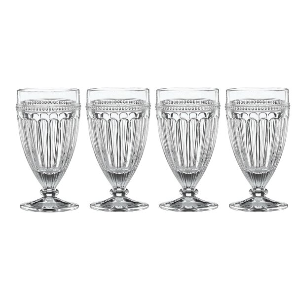 French Perle Crystal 12 oz. Juice Glass (Set of 4) by Lenox