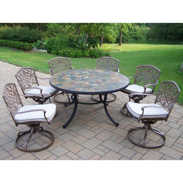 Neche Swivel Chair Dining Set