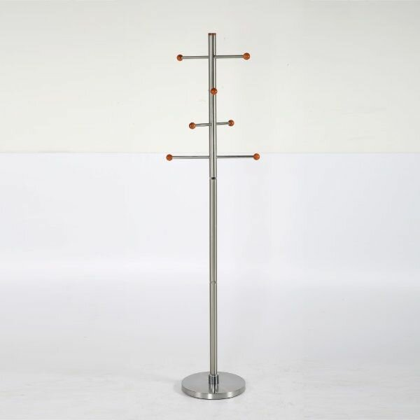 Menahan Stainless Steel Coat Rack by Latitude Run