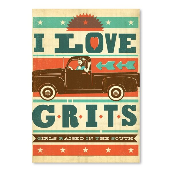 Grits Vintage Advertisement by East Urban Home