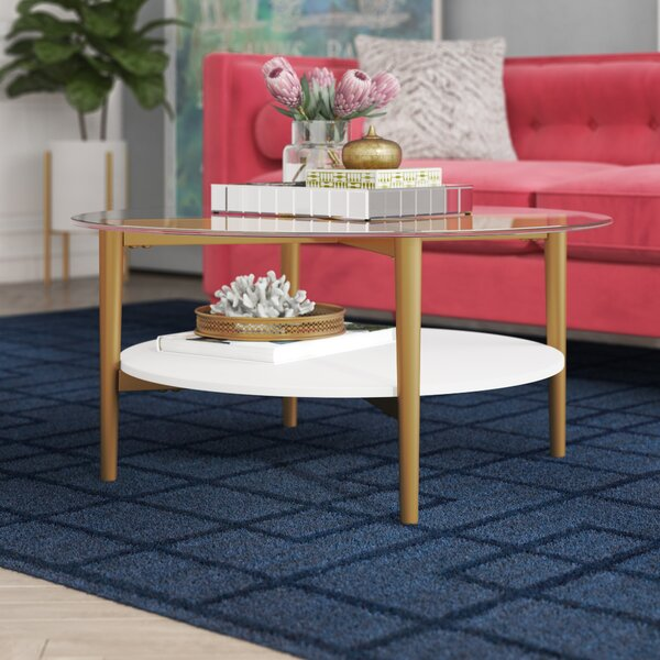 Carpenter Coffee Table With Storage By Mercer41