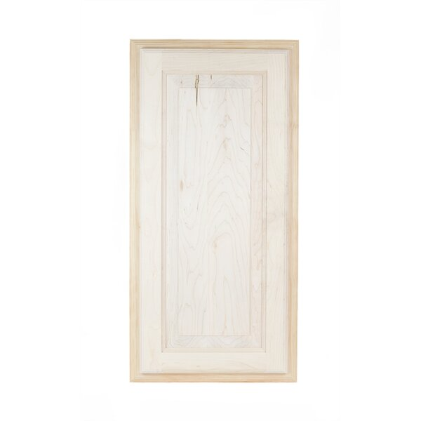 Baldwin 15.5 W x 49.5 H Recessed Cabinet by WG Wood Products