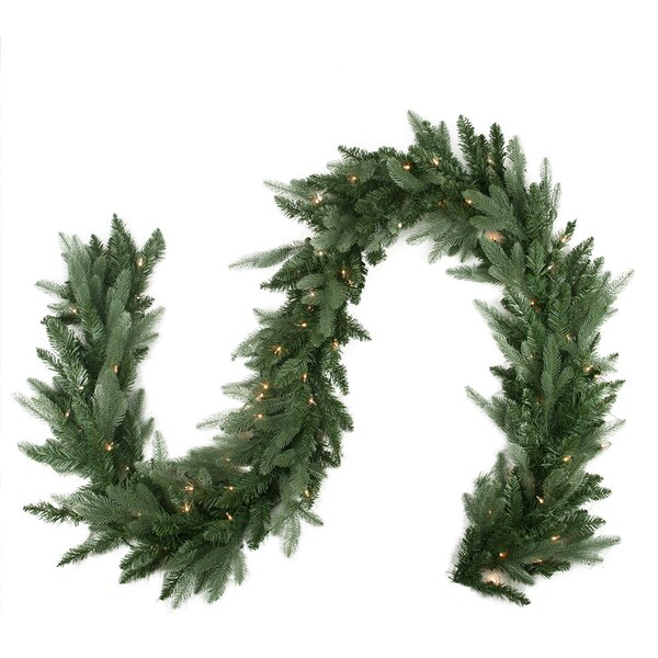 Pre-Lit Washington Frasier Fir Artificial Christmas Garland by Northlight Seasonal