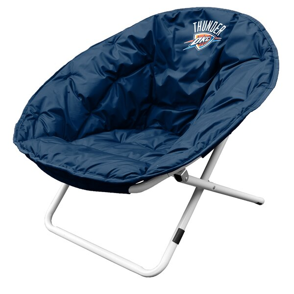 NBA Sphere Papasan Chair by Logo Brands