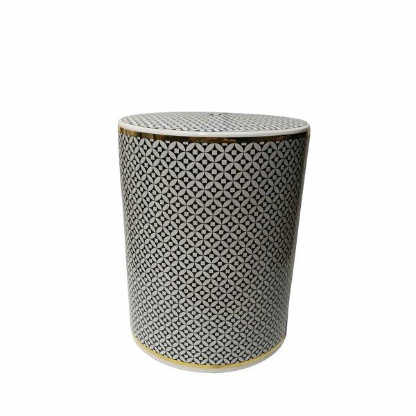 Cofer Ikat Ceramic Garden Stool by Brayden Studio