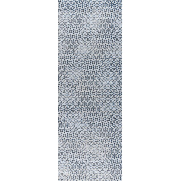 Norman Hand-Woven Blue Area Rug by M.A. Trading