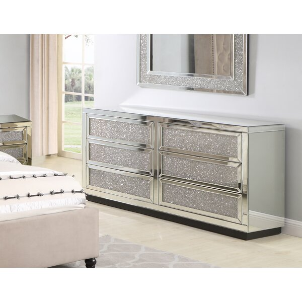 Tennessee 6 Drawer Dresser by Rosdorf Park