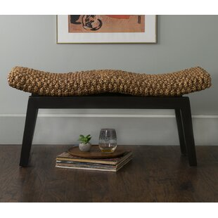 Searching for Vincenza Wood Bench By Beachcrest Home