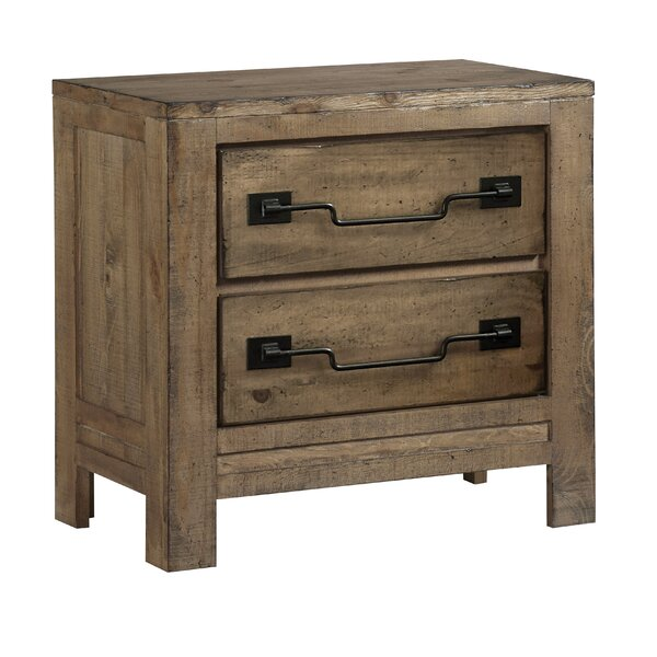 Chaffin 2 Drawer Nightstand by Gracie Oaks