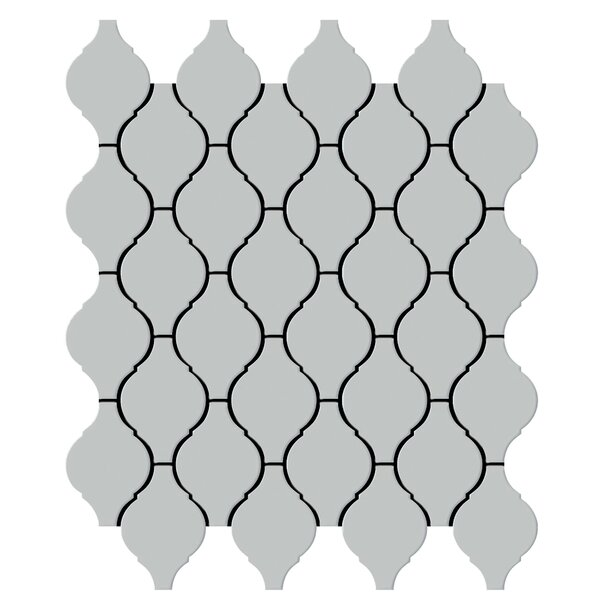 Shape 2 x 2 Porcelain Mosaic Tile in Gray by Emser Tile