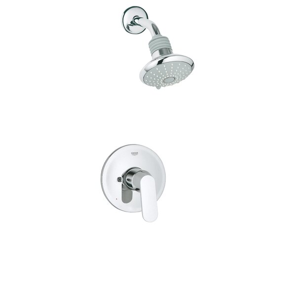 Eurosmart Cosmopolitan Volume Control Shower Faucet with Lever Handle by GROHE GROHE