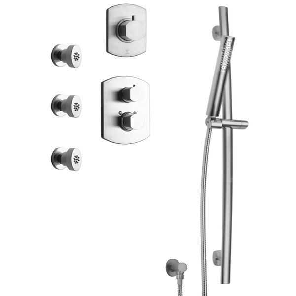 Novello Thermostatic Complete Shower System By LaToscana