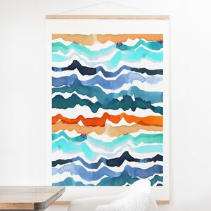 'Beach Waves' Photographic Print by Zipcode Design