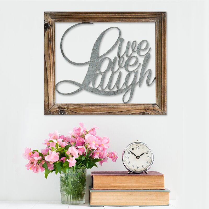 Live Laugh Love Wall Décor