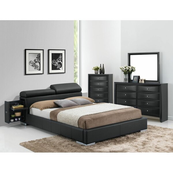 Mahalia Upholstered Storage Platform Bed by Orren Ellis Orren Ellis