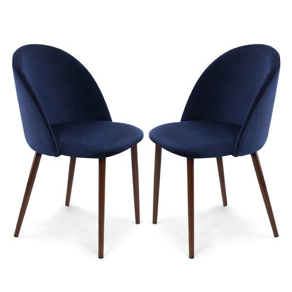 Aaden Upholstered Dining Chair (Set Of 2) By Mercer41 Mercer41