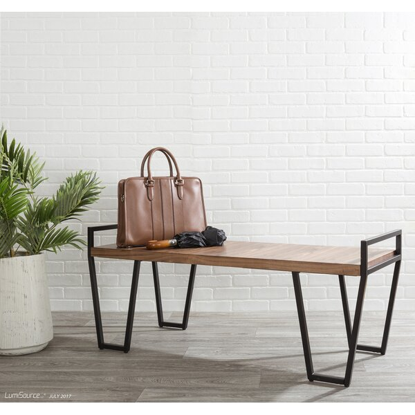 Shera Industrial Bench by Union Rustic