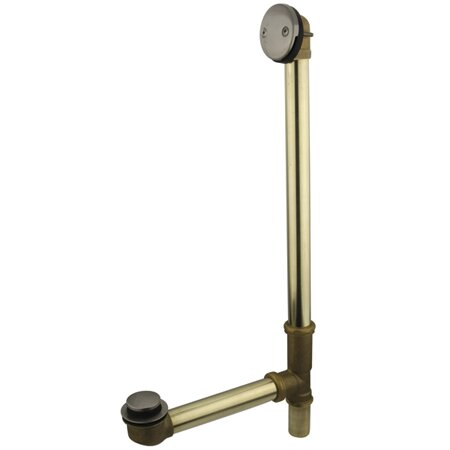 Made to Match 1.5 Leg Tub Drain With Overflow by Kingston Brass