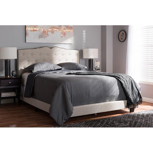 Frosten Upholstered Standard Bed by Winston Porter