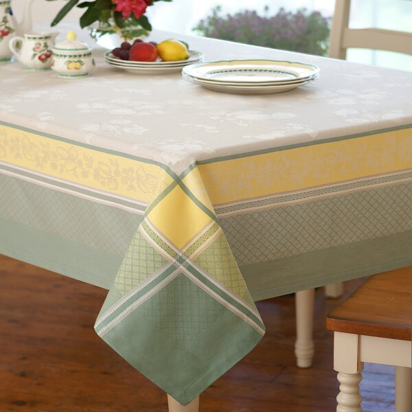 Villeroy U0026 Boch Fleurence Jacquard Fabric Tablecloth | Wayfair
