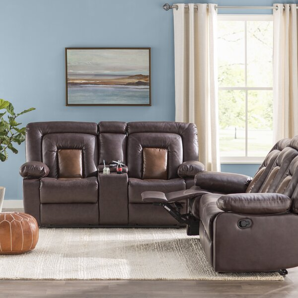 Alice Reclining 2 Piece Living Room Set by Red Barrel Studio