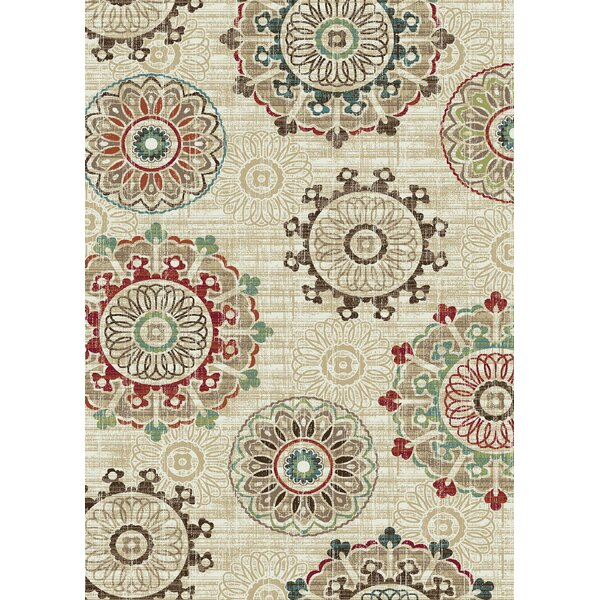 Brighton Cream Area Rug by Mayberry Rug