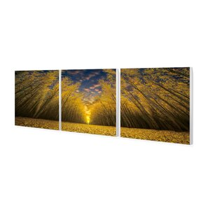 'Fields of Gold' Photographic Print Multi-Piece Image on Wrapped Canvas by Loon Peak