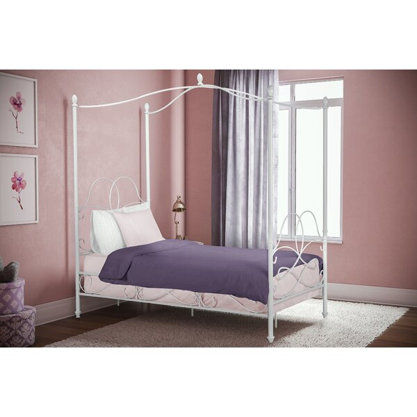 Dianna Twin Canopy Bed by Viv + Rae
