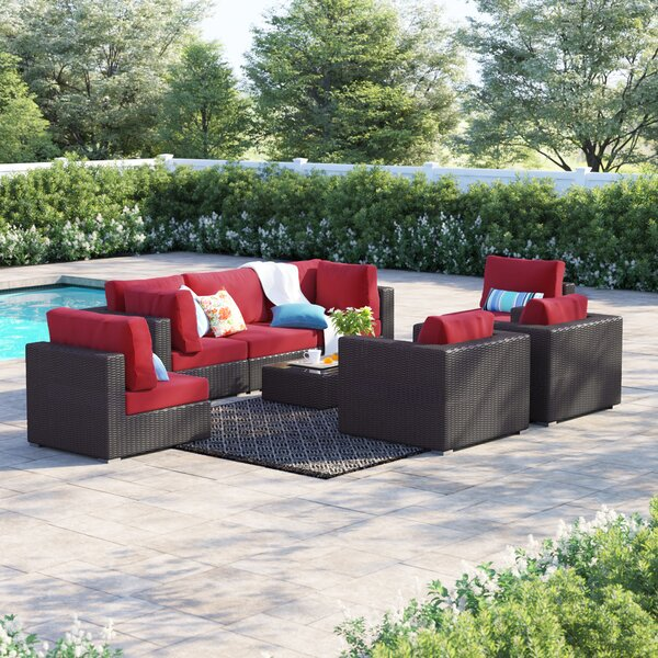 Brentwood 8 Piece Rattan Sectional Seating Group With Cushions By Sol 72 Outdoor by Sol 72 Outdoor Looking for