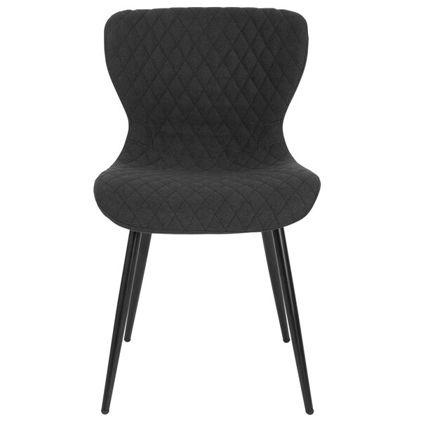 #1 Glenville Contemporary Upholstered Dining Chair By Wrought Studio Read Reviews