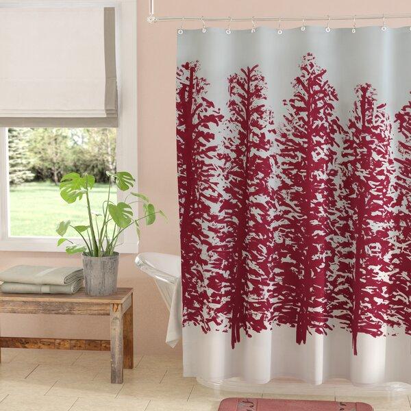 Meigs Hidden Forrest Shower Curtain by Laurel Foundry Modern Farmhouse