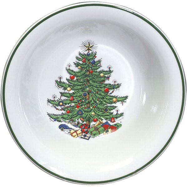 Original Christmas Tree Traditional Round Vegetabl
