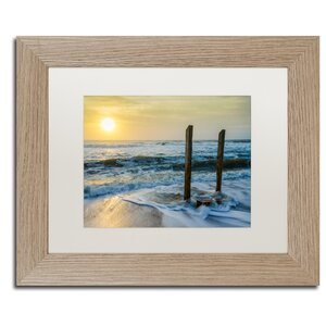 Kissed by the Sea Framed Photographic Print by Trademark Fine Art