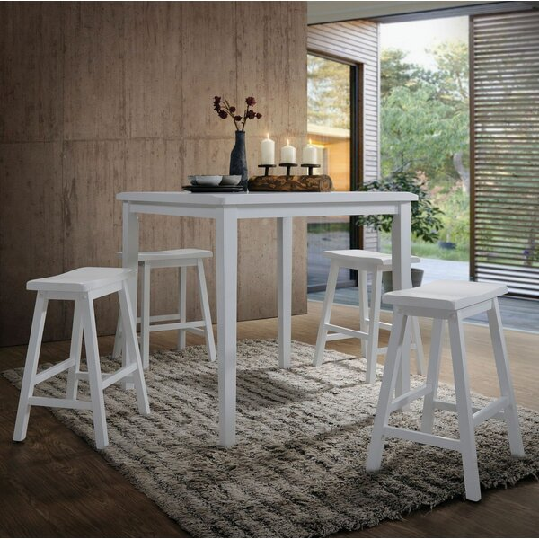 Hadrian 5 Pieces Pub Table Set by Longshore Tides