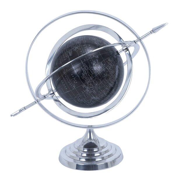 Armillary Sphere World Globe by EC World Imports