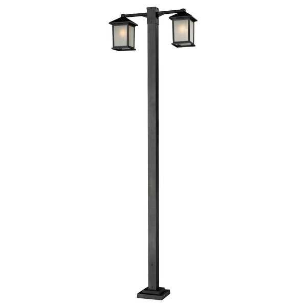 Stevens Outdoor 2-Light 99 Post Light by Andover Mills