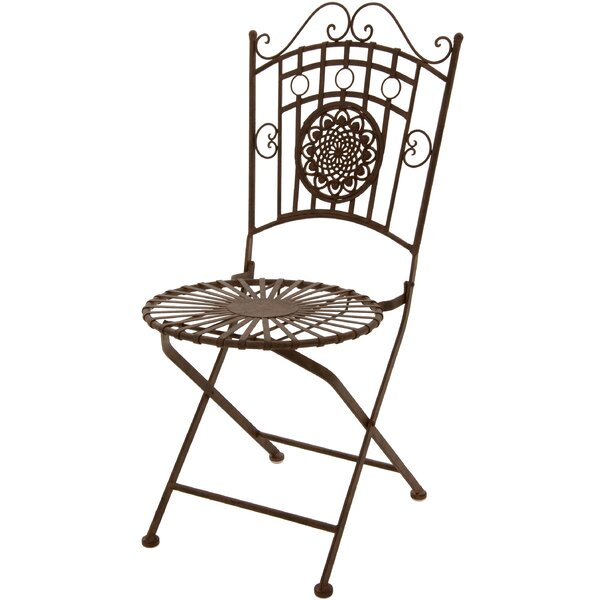 Folding Patio Dining Chair by Oriental Furniture