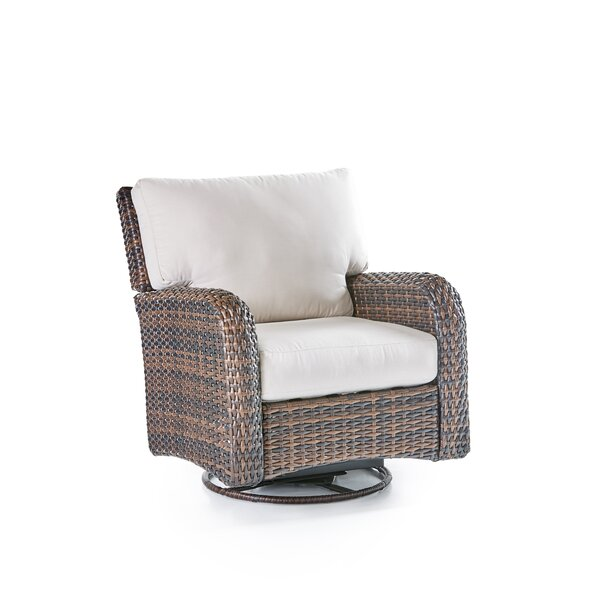 Losey Patio Chair with Cushion by Rosecliff Heights