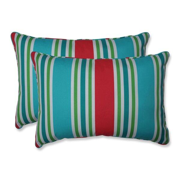 Hester Indoor/Outdoor Lumbar Pillow (Set of 2)
