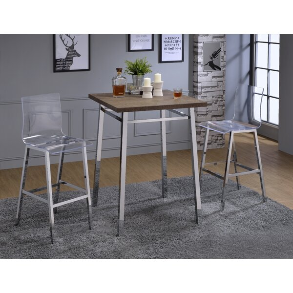 Potomac 3 Piece Pub Table Set by Wade Logan