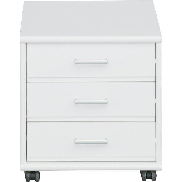 Waltrip 3-Drawer Mobile Vertical Filing Cabinet by Latitude Run